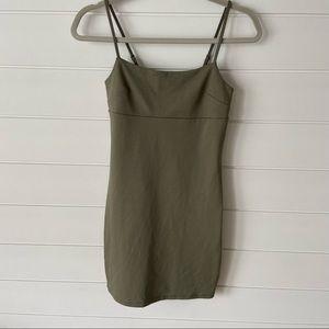 Dynamite Bodycon Spaghetti Strap Dress size XS